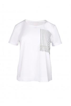 T-shirt z kieszonką Paris boheme